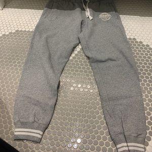 Light Gray Roots Sweat Pants